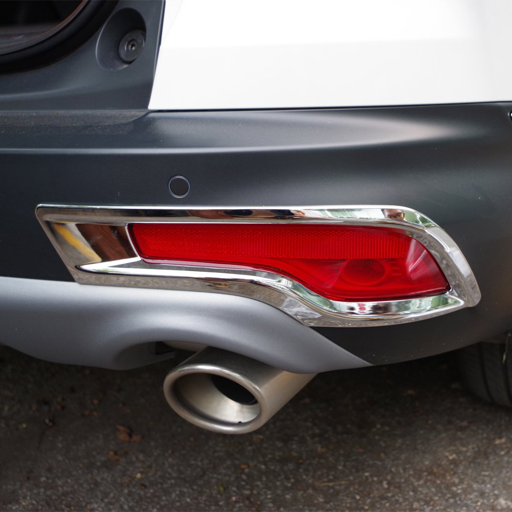 Chrome Rear Fog Light Cover Trim For Honda CR-V CRV 2015 2016