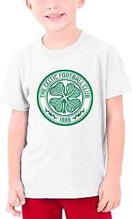 Scottish Badge Boys Graphic T-Shirt Top White