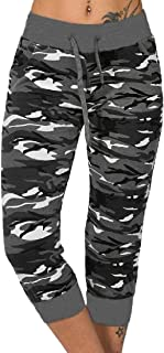 Esast Womens Casual Drawstring Elastic Waist Drawstrings Jogger Sweatpants Stretch Lounge Pants with Pocket