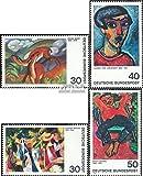 Prophila Collection BRD (BR.Deutschland) 798-799,816-817 (kompl.Ausgaben) 1974 Expressionismus (Briefmarken für Sammler) Malerei