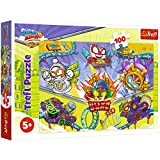 Rivals of Kaboom Puzzle Superzings 100 Piezas Super Zings para niños 41x27,8 cm, Puzzle Superthings