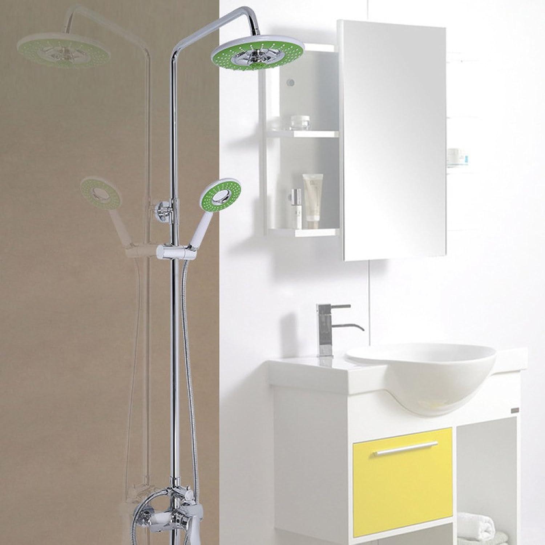 CF Bathroom Accessories CF Shower set hand shower lifting shower shower set copper multifunction shower
