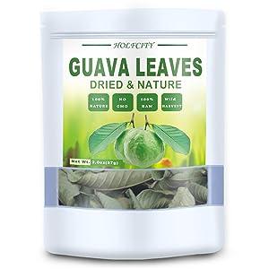 Dried Whole Guava Leaves, Natural Guava Tea (2.0 oz)