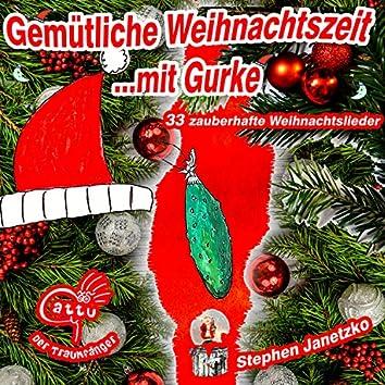 Gemütliche Weihnachtszeit mit Gurke