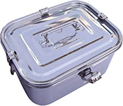 Stainless Steel Rectangular Kimchi Food Storage Container (5L / 168oz / 10.6