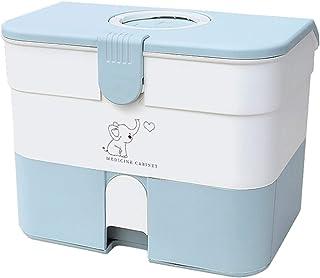 HLYT-0909 Boîte de Rangement Boîte de Rangement de médecine de la Poitrine de la Poitrine à Grande capacité, Boîte de Rang...