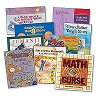 ETA hand2mind 41988 マリリン・バーンズ 数学と文学グレード 4-6 コレクション 17枚セット グレード:17個パック