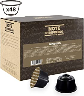 """Note D""""Espresso Instant soluble product Ginseng Sweet Capsules Dolce Gusto Compatible 8.5g x 48 capsules"""