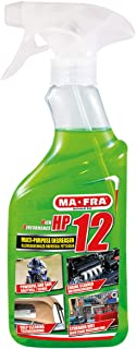 MA-FRA H0176 HP12, Universal Multipurpose Degreaser, with Active Formula, Suitable for Any Kind of Surface, Powerful and S...