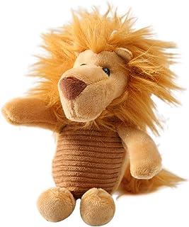 Luxurious Elephant Lion Faux Plush Doll Pendant Car Keychain Key Ring Bag Hanging Fine Workmanship Decor Souvenir Daily Li...