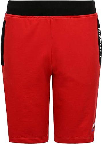 Le Coq Sportif Ess courte Regular N°3 M Pur Rouge Homme