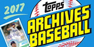 2017 Topps Archives Baseball Hobby Box (24 Packs of 8 Cards; 2 On-Card Autographs)