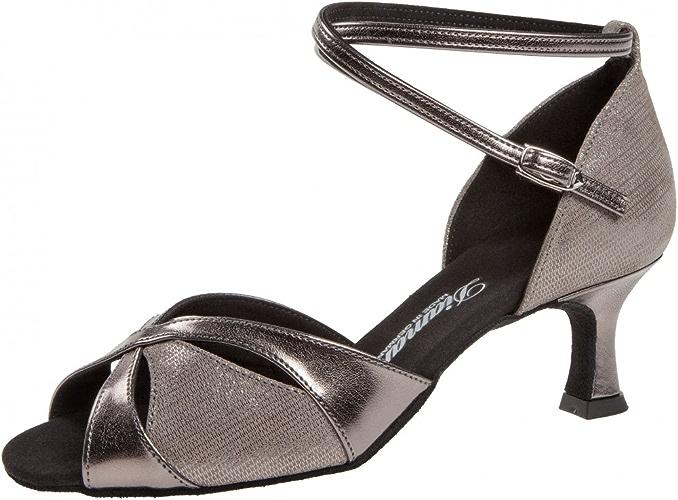 Diahommet Femmes Chaussures de Danse 141-077-466 - Bronze - 5 cm Flare