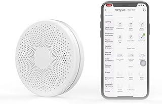 Rookmelder Compatibel voor Tuya, Rookmelder Koolmonoxide Composiet Huisbrandmelder met Smart WiFi - Werkt op batterijen