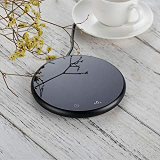 Coffee Mug Warmer, Electric Beverage Warmer Plate with Timer 2 Temperatures Settings for Office Home, Tea Water Milk Cocoa