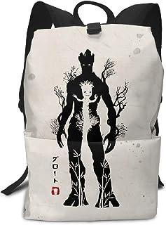 Mochila Unisex, Mochilas y Bolsas, I Am Groot School College Bookbag for Girls Boys Fashion Travel Back Pack