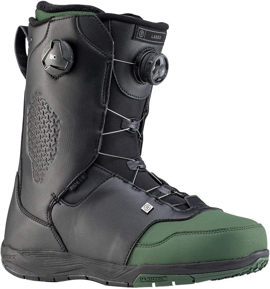 Ride Max 52% OFF Lasso Mens Snowboard Boots 2020 9.5 Max 47% OFF Forest -