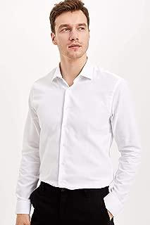 DeFacto Slim Fit Uzun Kollu Gömlek