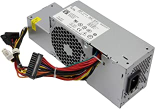 Asia New Power New 235W Watt H235P-00 R224M PW1FR610 16 RM112 67T67 WU136 Desktop Power Supply Unit PSU for Dell Inspiron 580 760 780 960 980 SFF Small Form Factor Computer