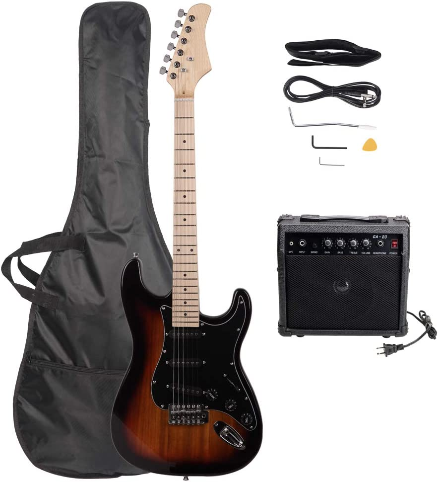 Ranking TOP10 Stylish Electric Guitar Kit Beginner Gu Bundle - Now on sale