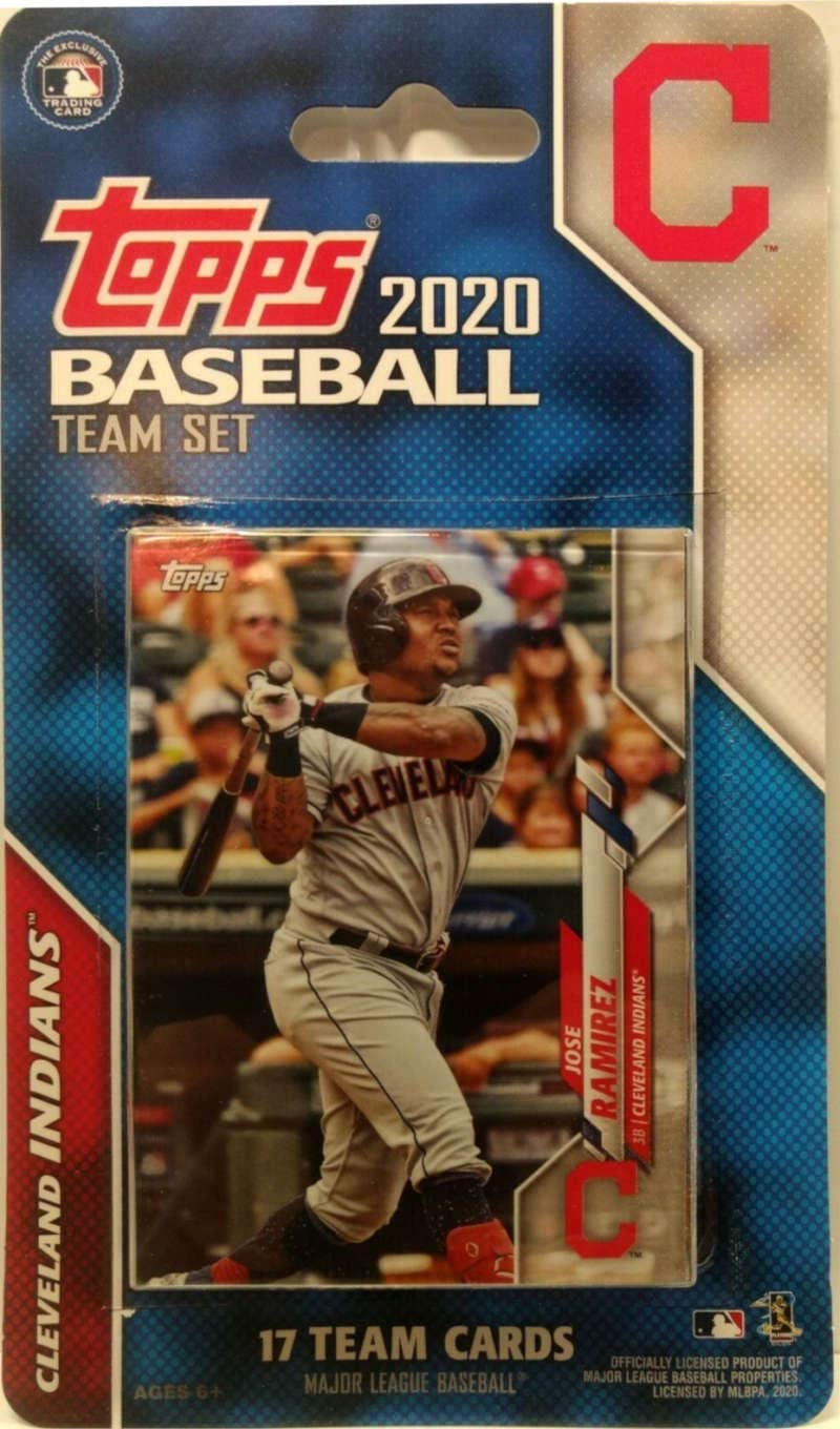 2020 Topps Factory Sealed Cleveland Indians Set Ranking TOP1 Our shop OFFers the best service Cards 17 of Team