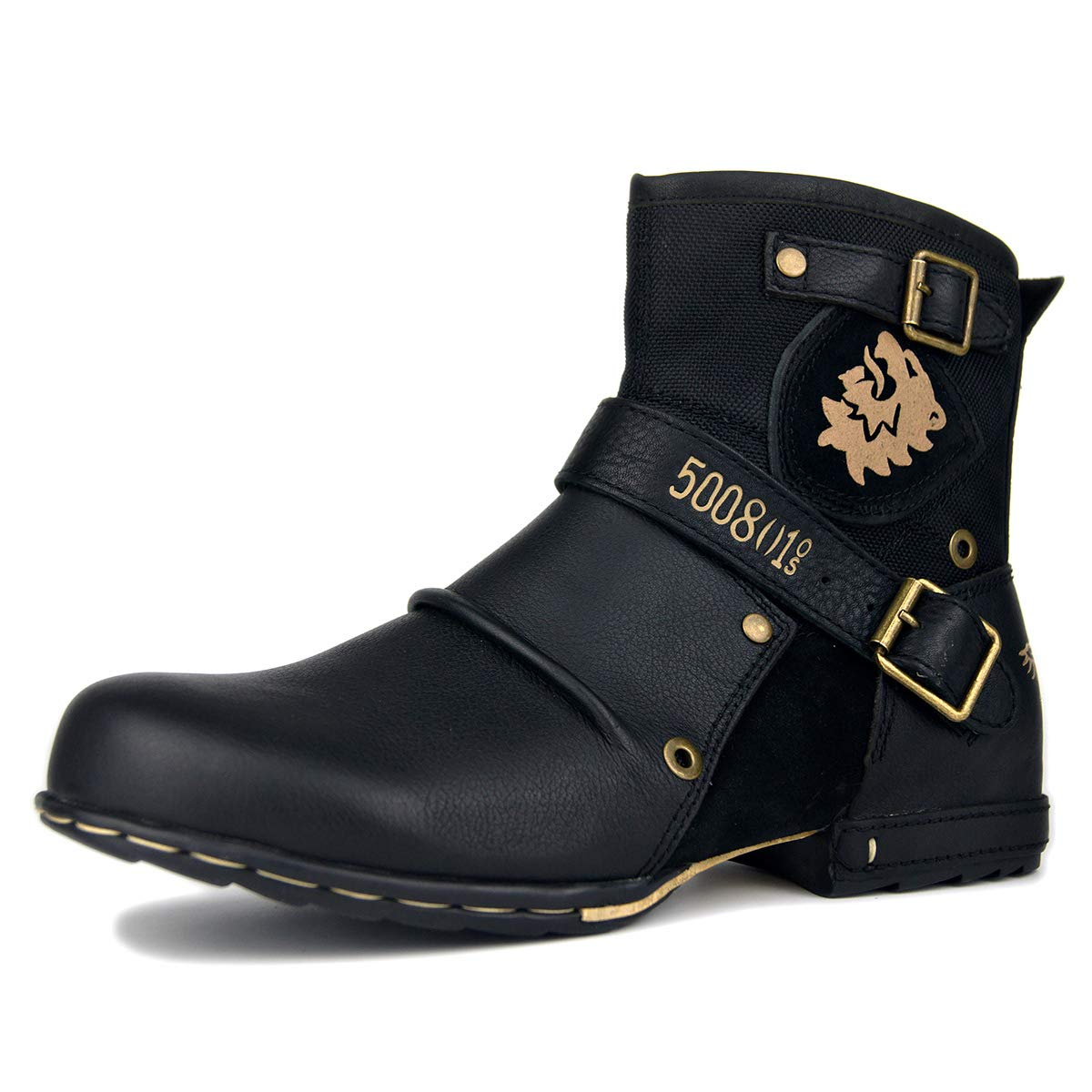 OTTO ZONE Biker Boots Motorcycle