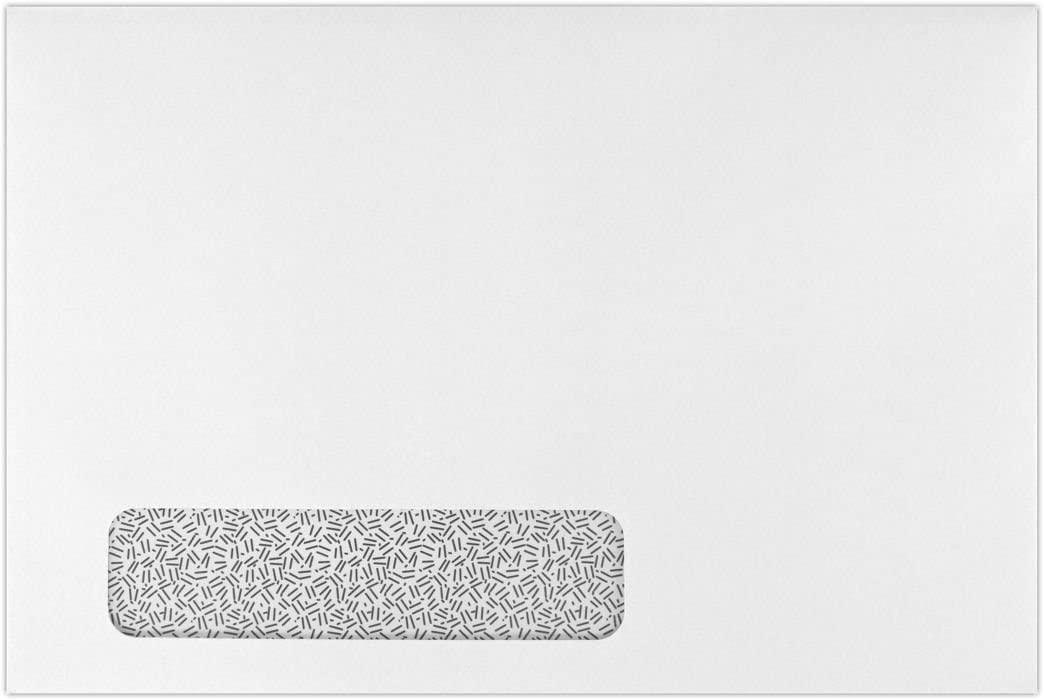 6 x 9 Limited Special Price Booklet Window Envelopes - High material 500 Sec. Qt Tint w White 24lb.