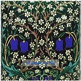 Beautiful Art and Crafts William Morris Blue Blackthorn Flower design 8'/20cm ceramic tile suitable for...