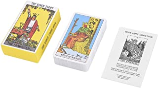 Haofy Tarot Deck Future Telling Game Card Set with Colorful Box Vintage 78Pcs/Set