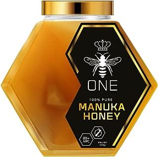 Artisanal, Small-Batch, Limited-Edition, Ultra-Premium ONE Manuka Honey. Certified 20+(MGO829+). Exclusive GLASS JAR Packaging. 100% Genuine New Zealand Manuka Honey. 250g(8.8oz)