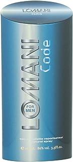 Lomani Code Eau de Toilette Spray for Men 3.3 Ounce