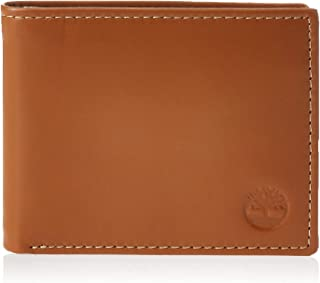 Timberland Men's Cloudy Genuine Leather Passcase Wallet