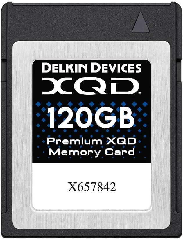 Delkin Devices 120GB Premium XQD Memory Card (DDXQD-120GB)