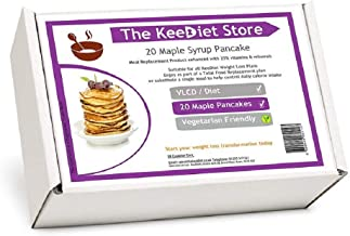 20 Maple Syrup Pancake Meal Replacement VLCD Diet Meals by KeeDietA Estimated Price : £ 25,99