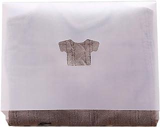 Zhida 洋服 たたみ ボード 収納力アップ Tシャツ/Yシャツ/セーター 折たたみボード 衣類 収納 ファイル式 便利 積み重ね 省スペース 日本語説明書 10枚セット (10)