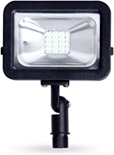 LLT LED Compact Floodlight with Arm SMD Outdoor Landscape Security Waterproof 10W 5000K (Daylight)