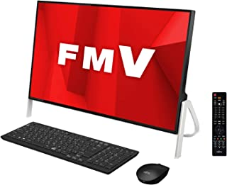 【公式】 富士通 デスクトップパソコン FMV ESPRIMO FHシリーズ WF1/D1 (Windows 10 Home/23.8型ワイド液晶/Core i7/32GBメモリ/約256GB SSD + 約3TB HDD/Blu-ray Discドライブ/Office Home and Business 2019/ブラック/TV機能付き)AZ_WF1D1_Z023/富士通WEB MART専用モデル