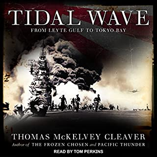 Tidal Wave audiobook cover art