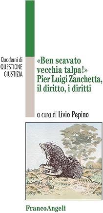 Ben scavato vecchia talpa. Pier Luigi Zanchetta, il diritto, i diritti (Quaderni di Questione giustizia Vol. 29)