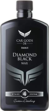 Car Gods Black Carnauba Wax Polish 17fl Oz (500ml) - Pigmented Formula 3 in 1 Removes Surface Oxidation, Blemishes and Minor Scratches: image