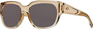 Costa Waterwoman Plastic Frame Gray Lens Ladies Sunglasses WTW252OGP