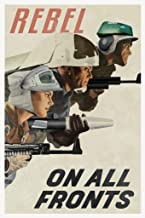Rebel On All Fronts Alliance Propaganda Poster 12x18 Propaganda 12x18 inches Multi 292615