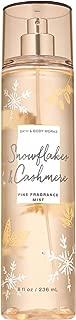 Bath and Body Works SNOWFLAKES & CASHMERE Fine Fragrance Mist 8 Fluid Ounce (2019 Edition)