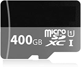 Genericcccd 400GB Micro SD Memory Card High Speed Class 10 Micro SD SDXC Card with SD Adapter