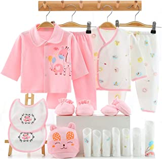 18PCS Newborn Girl Boy Clothes 0 3 Months Baby Outfits...