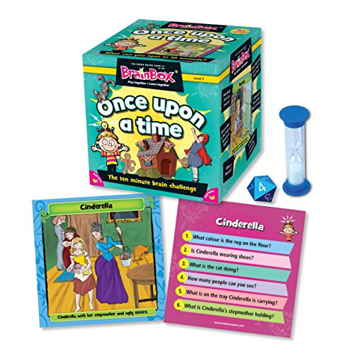 Green Board Games - Gioco di Carte di Once Upon a Time [Lingua Inglese]