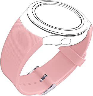 CoJerk Silicone Watch Band for Samsung Gear S2 (Rose Twill)