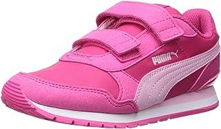 PUMA Unisex-Child St Runner Velcro