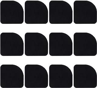 12 Stück Schwingungsdämpfer Pads für Waschmaschinen, Trockner Lautsprecher Gummimatte, Anti-Vibrationsmatte Gummi Stille Füße Pads Waschmaschine Anti-Vibrations-Schock Pads Mat Füße Maschine