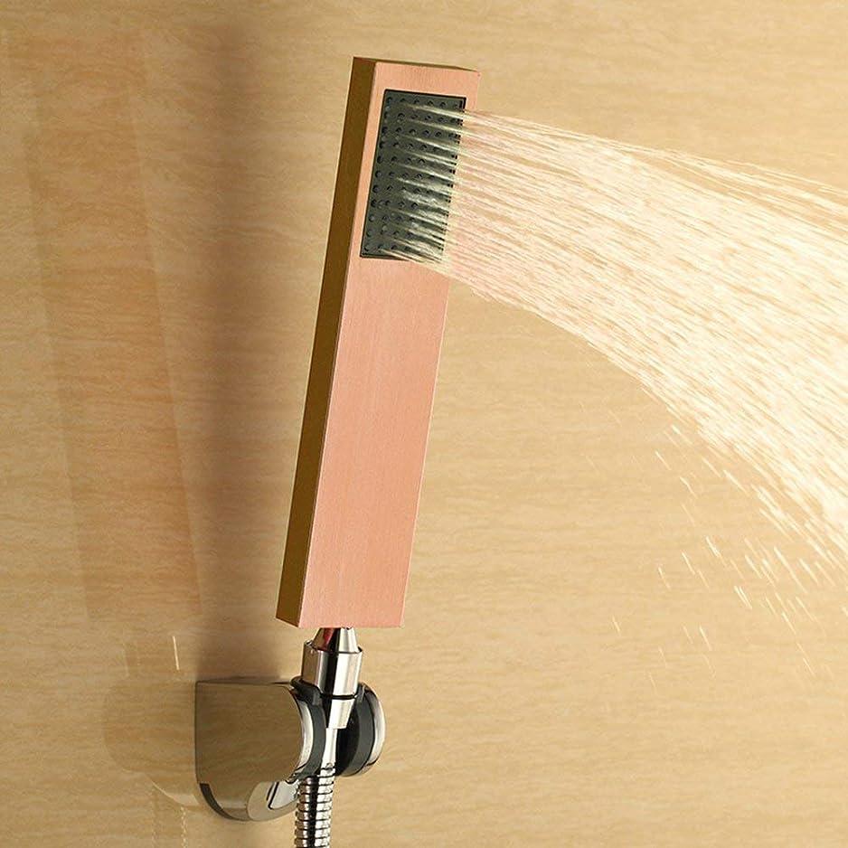 視線興味肯定的実用的なハンドシャワー ハイエンド人格カラーシャワーヘッドシャワーヘッド加圧シャワーノズルシャワーを浴びる (Color : 3)